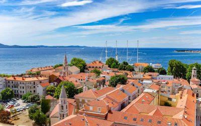 Zboara in Zadar, dar nu in zadar.